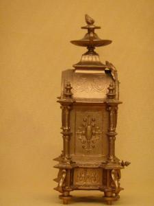 Mantel Clock Antique Clocks Gilt Victorian Clock Clocks